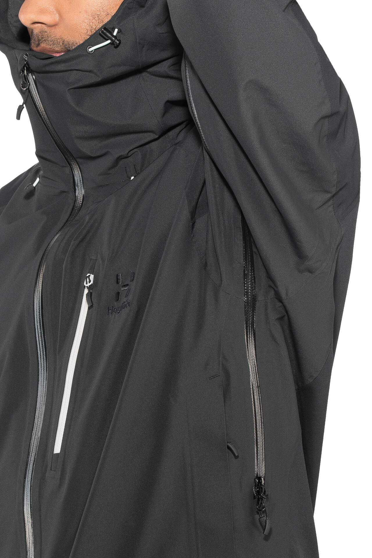 Black Jacket Haglöfs Herren Niva True VpqSzMU